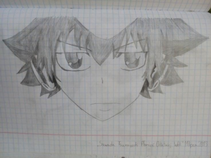Katekyo Hitman Reborn Sawada Tsunayoshi