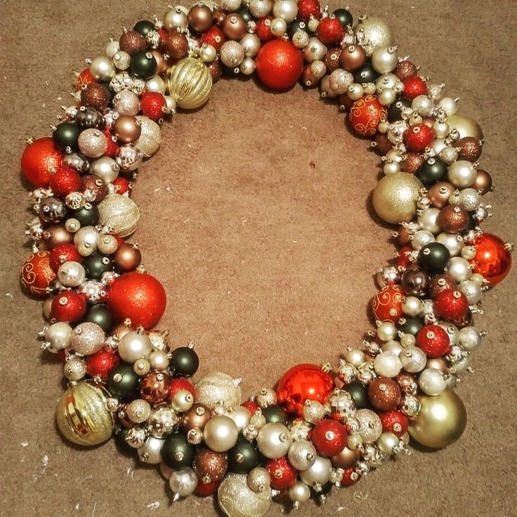 Christmas ornament  pool noodle wreath