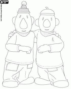 Pat en Mat, twee mannen in de problemen klusser kleurplaat