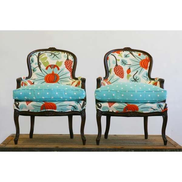 Lily and Leona by Wild Chairy - LOVE!  @Erin Olson#adshow2012Decor, Wild Chairi, Ideas, Polka Dots, Wildchairi, Chairs, Colors, Seats, Furniture
