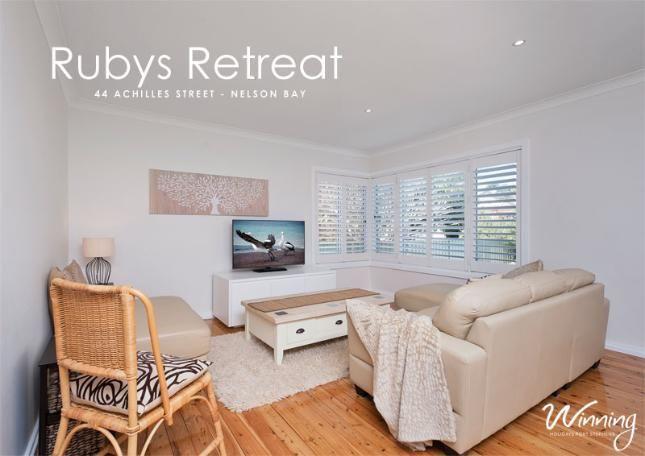 Achilles Street, 44, Ruby's Retreat | Nelson Bay, NSW | Accommodation