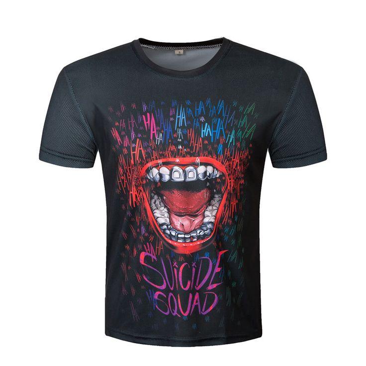 Suicide squad  t shirt Harley Quinn joker deadshot tshirt //Price: $34.50 & FREE Shipping //     #harleyquinn #suicidesquad #loveharleyquinn #suicidesquad #squad #margotrobbie #harleenquinzel #jaredleto #joker #mrj #puddin #katana #deadshot