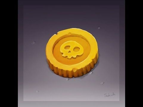 How to Draw for Games #1 | Coin - YouTube   ★ Find more at http://www.pinterest.com/competing/