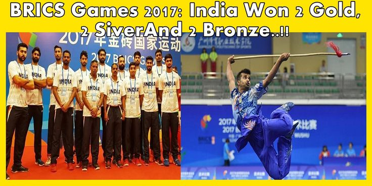Guangzhou (China): India won six medals including two golds, two silvers and two bronzes in the WUSHU competition at the first ever BRICKS Games, which held here on Monday.