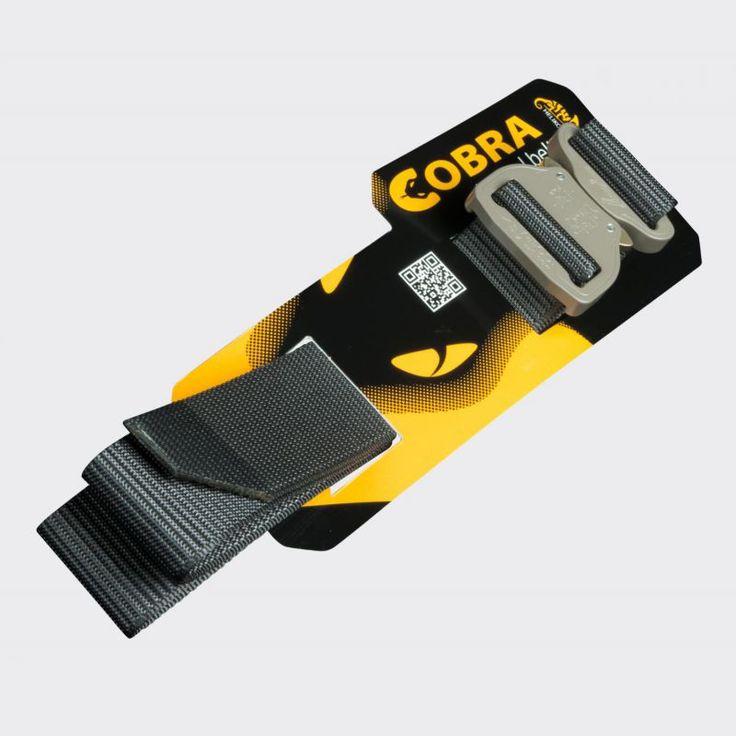 La Helikon Cobra est une ceinture tactique en nylon de 45mm de large associée à une boucle rapide AustriAlpin http://www.equipement-de-survie.fr/produit/habillement/ceintures/helikon-cobra-fc45-noire