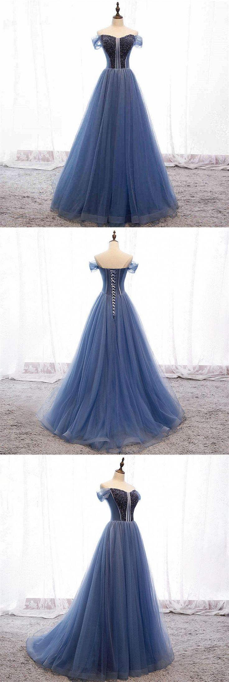 Cap Sleeves Beading A Line Prom Dress.prom,prom dress,prom dresses long,prom dress 2019.#prom #promdresses #promdresslong #promdress2019 #cheappromdre...