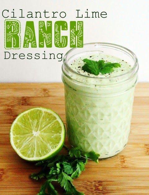 CILANTRO RANCH DRESSING Cafe Rio Copycat Recipe 1 packet Hidden Valley Ranch mix ( do not use Buttermilk version ) 1 cup mayonnaise ...