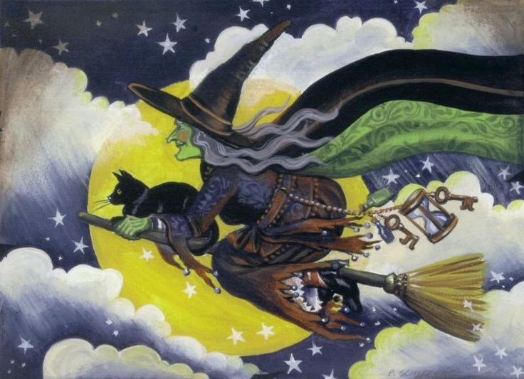 image Halloween witch prefers riding hitachi over broom