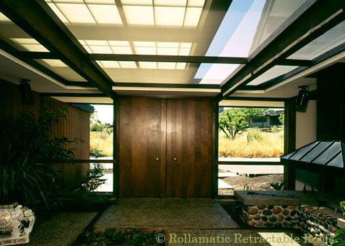 Perhaps The Only Home Better Than An Eicher Is An Echler With Its Atrium  Covered By
