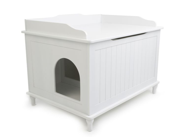 Looking For Ideas To Cover The Big Ol Litter Box. Keep The Dust Down.