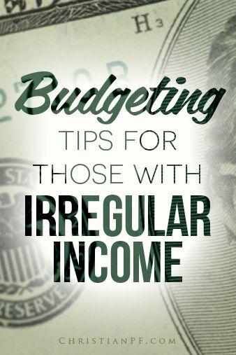 4 #budgeting tips for those with irregular income  http://seedtime.com/budgeting-tips-irregular-income/