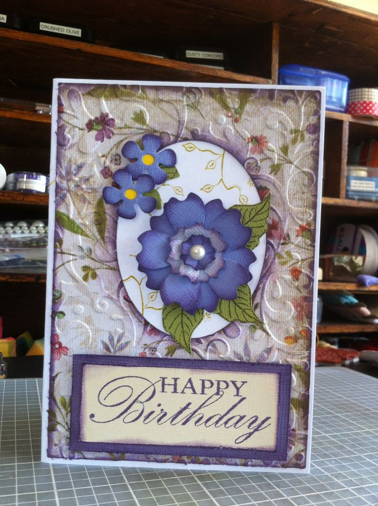 Kaszazz Summer Blooms and Birthday Stamp