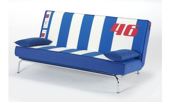 Sof cama tapizado de valentino rossi estilo pop art - Tapizados para sofas ...
