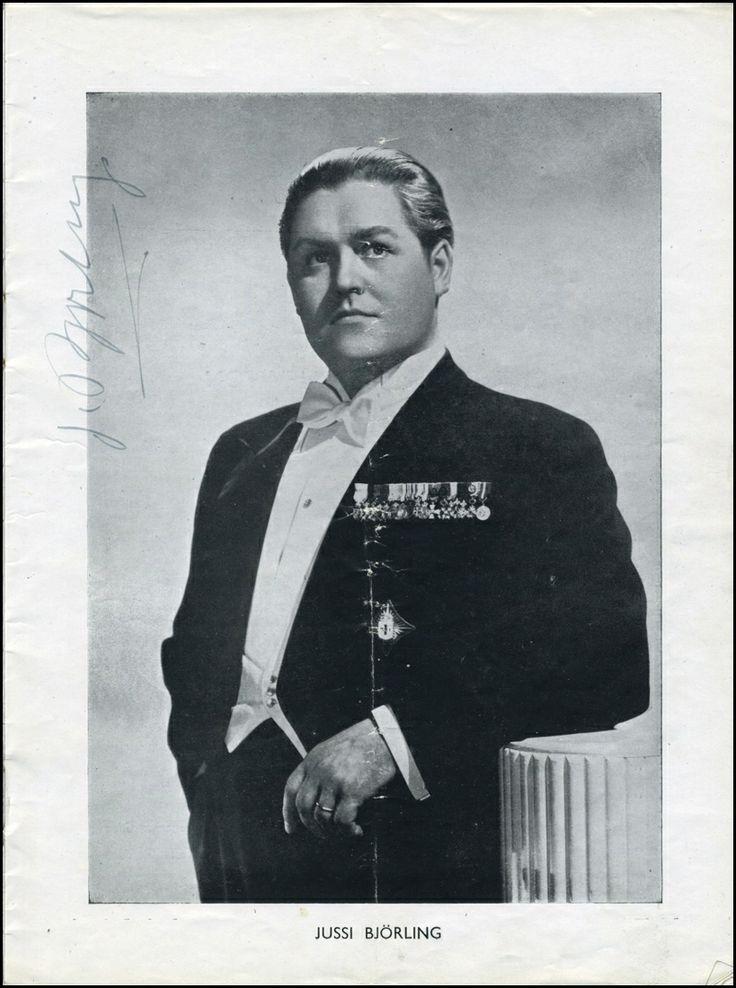 Jussi Bjorling what a tenor #verdimuseum