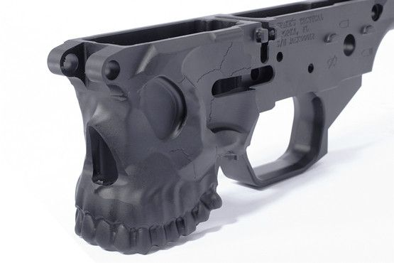 Spikes Tactical AR-15 Stripped Billet Jack Lower Receiver