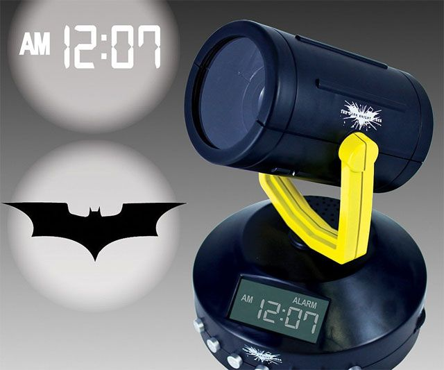 Batman Signal Projection Alarm Clock | DudeIWantThat.com
