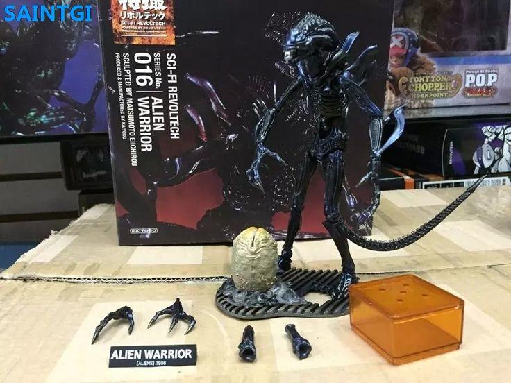 SAINTGI Alien:Covenant Alien vs. Predator Alien Warrior Animated PVC 15CM Action Figure Collection Model Dolls Kids Toys #Affiliate
