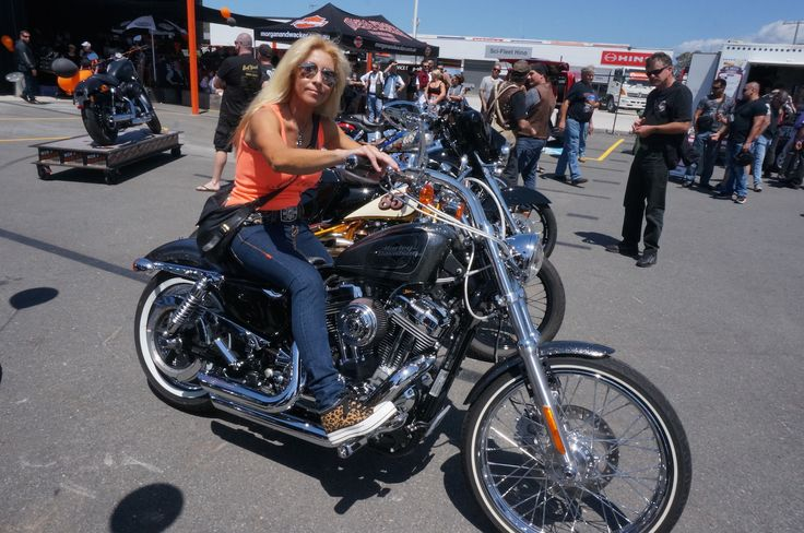Mandy Tully won best Sportster in the show and shine at the Gold Coast Harley-Davidson grand opening. Read all about it at http://motorbikewriter.com/harley-883-iron-dealership/
