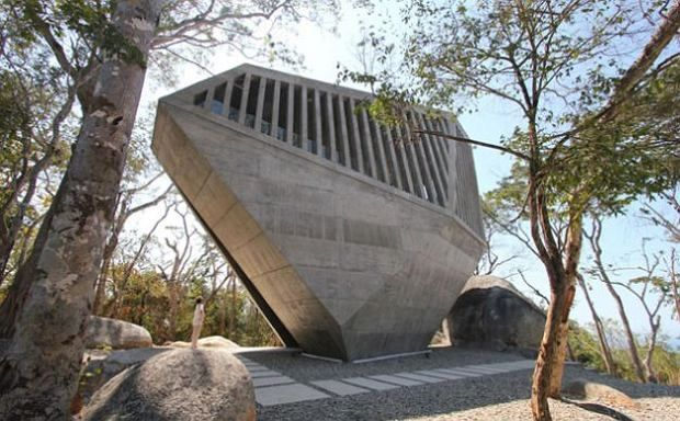 Kaplica w Acapulco, proj. BNKR Arquitectura