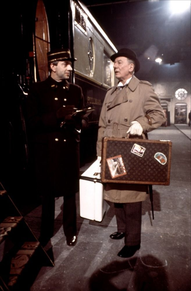 Murder on the Orient Express (1974) - Jean-Pierre Cassel, John Gielgud