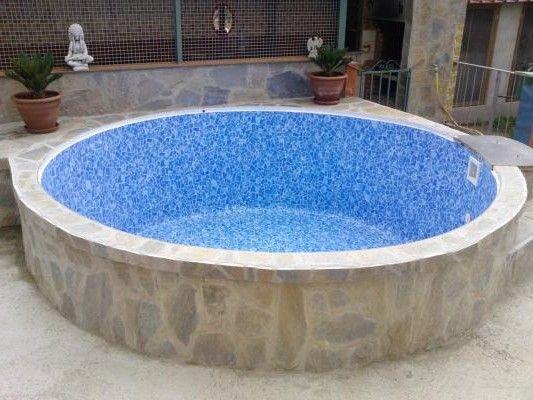 Las 25 mejores ideas sobre piscina elevada en pinterest for Piscina obra pequena