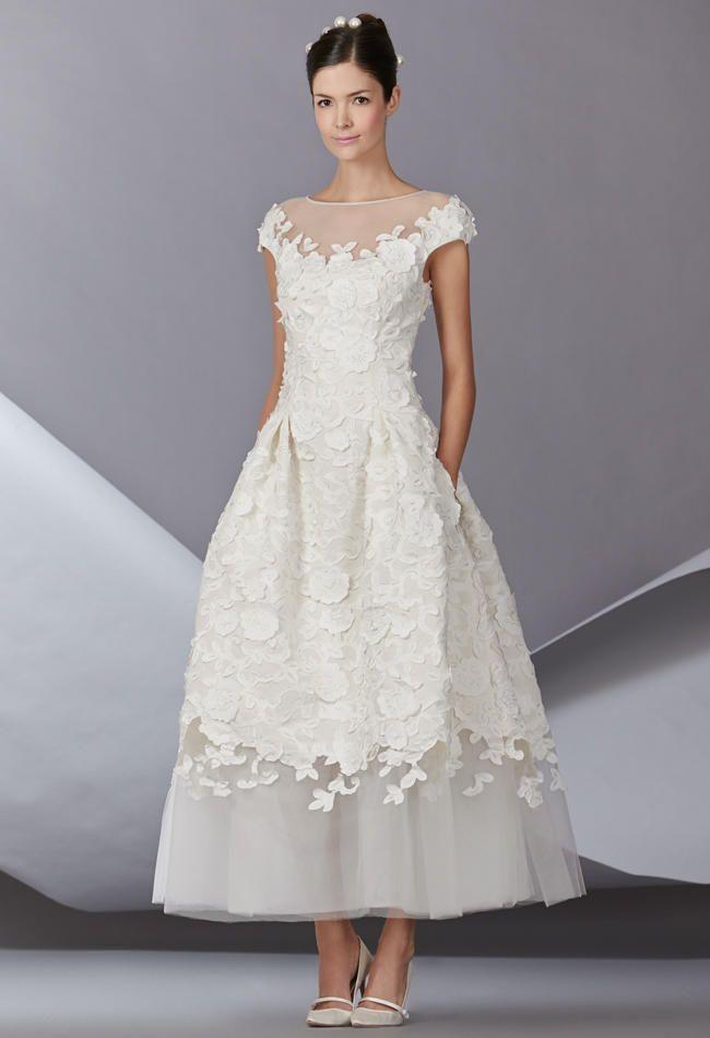 Carolina Herrera Fall 2014 Wedding Dresses | TheKnot.com