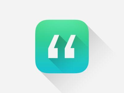 Quotes. App Icon