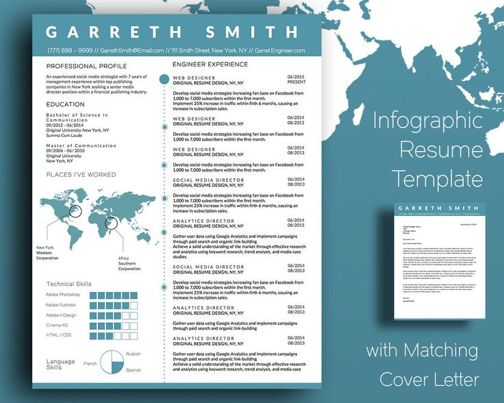infographic resume template word invitation sle