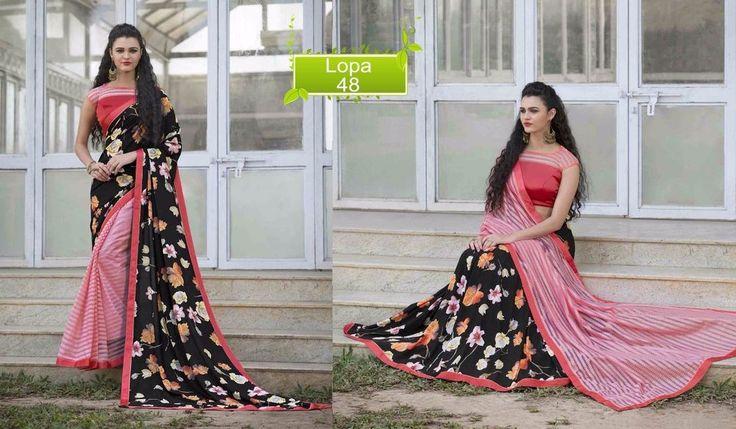 Indian Designer Pakistani Saree Bollywood Dress Partywear Sari Ethnic Wedding #kriyacreation #Desinersaree