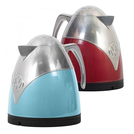 Officially licensed Volkswagen Camper Van retro kettle and toaster