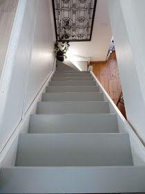 Rue Rivoirette: Peindre un escalier avant/après