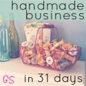 {Handmade Business in 31 Days — Day 24, How to move forward when you have a lot going on.}