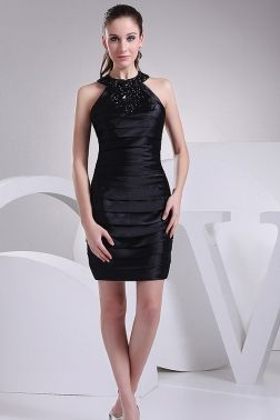 Halter Little Black Dresses CHERISHDRESSES