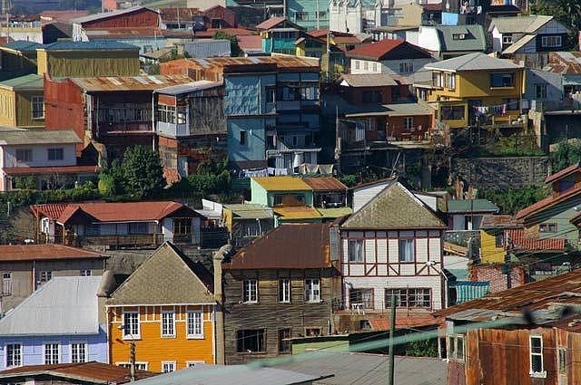 Cerros de Valparaiso - Jose Barrera - http://bit.ly/6NNKMS — en Valparaiso.