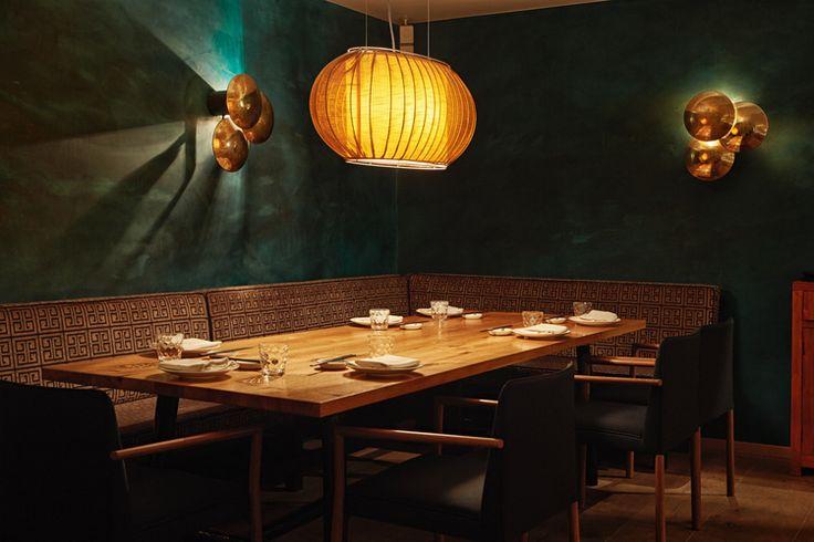 Koi restaurant design münchen munich hildmann wilke