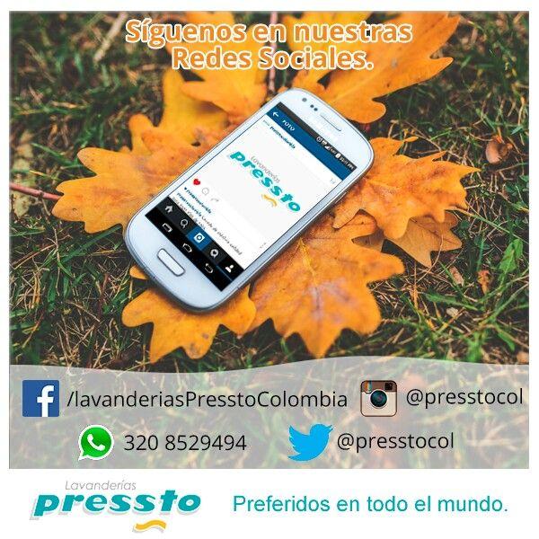 Siguenos en nuestras redes sociales #instagram #facebook #twitter #pinterest