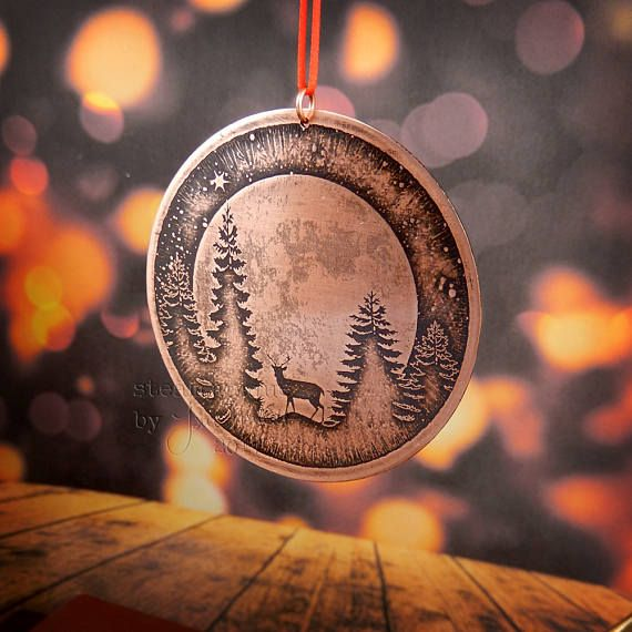 Etched Copper Christmas Tree Decoration: https://www.etsy.com/uk/listing/565865282/copper-christmas-decoration-christmas