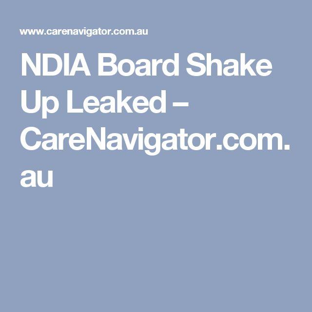 NDIA Board Shake Up Leaked – CareNavigator.com.au