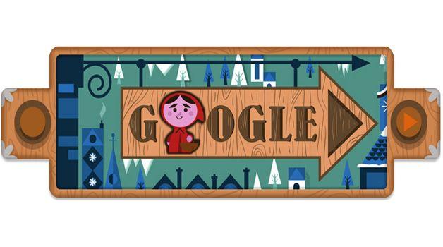 20 dicembre 2012 - Le Fiabe dei Fratelli Grimm nel doodle di Google