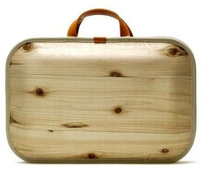 WoodenBriefcase by Takumi Shimamura for Monacca