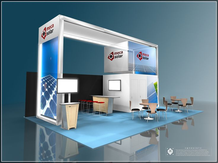 20u0027 X 30u0027 Trade Show Exhibit For Meca Solar. To Know More About