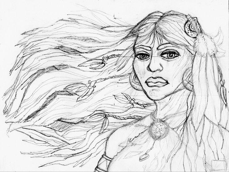 The Dreamcatcher | pen drawing | 2014 on Behance
