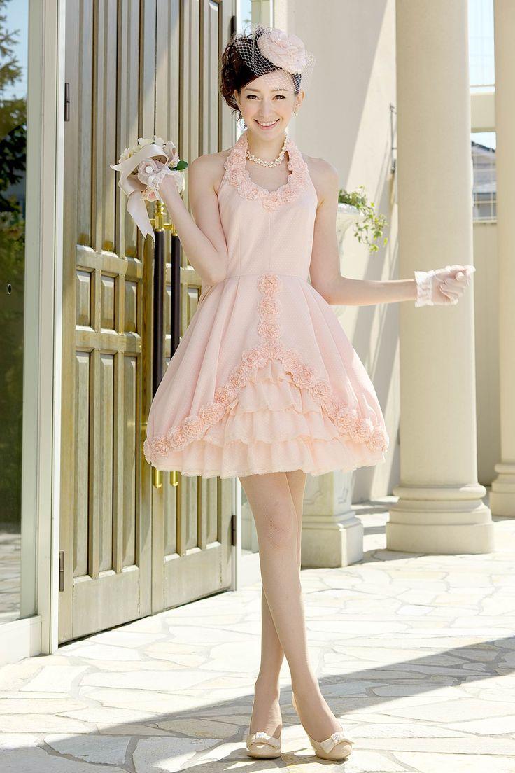 Oltre 25 fantastiche idee su カラードレス ピンク ミニ 一覧 su ... ピンクのミニ スカート ウェディングドレス・カラードレス・花嫁衣装のまとめ一覧♡