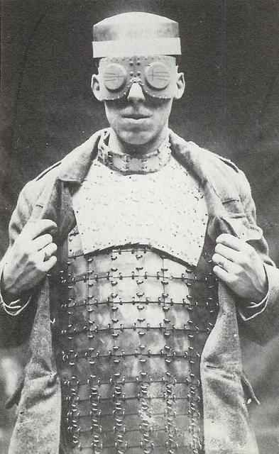 British body armour in 1917 18 wtf photos from britain s past