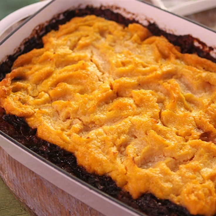 Try this Three Level Shepherds Pie recipe by Chef Lyndey Milan . This recipe is from the show Lyndey Milan's Baking Secrets.