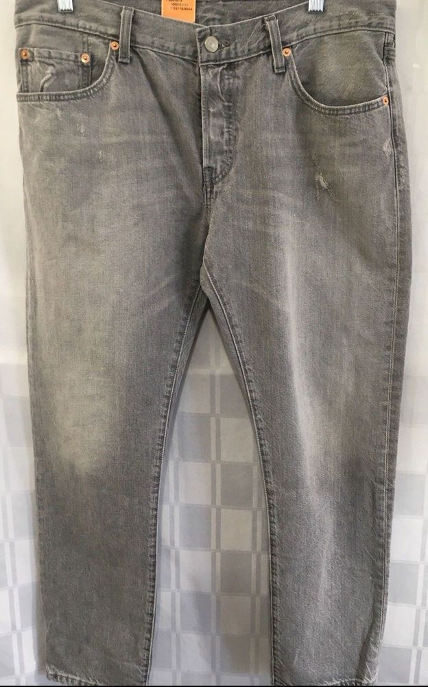 640af77f1f6 Levis 501 ct Womens 30x32 Button Fly Tappered Leg Light Gray Wash  Customized  Levis  Tapered  501ct  lightgray  buttonfly