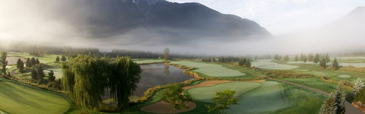 Big Sky Golf Pemberton - 25 minutes drive north of Whistler
