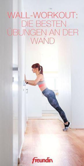 Wall Workout: Die besten Übungen an der Wand – Maren