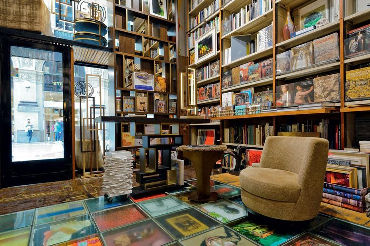 "Milan : a new home for Oasis style  Far from the cold remote atmospheres present in many interiors showrooms, Oasis have chosen to combine those key elements of style, culture, tradition and elegance. From October 2016, Oasis have selected the historical Libreria Bocca in Galleria Vittorio Emanuele II, the so-called ""drawing room"" of Milan, as the perfect location to display items from their collections, resulting in a coming together of two areas of Italian supremacy: culture and style."