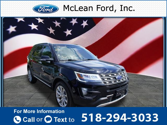 2016 *Ford*  *Explorer* *Limited*  30k miles Call for Price 30841 miles 518-294-3033 Transmission: Automatic  #Ford #Explorer #used #cars #McLeanFord #Millerton #NY #tapcars
